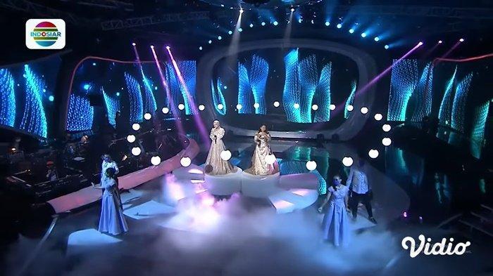 Hasil LIDA 2021 Konser Show Top 9 Grup 2, Sempat Pingsan Posisi Adei Rawan, Anting dan Rio?
