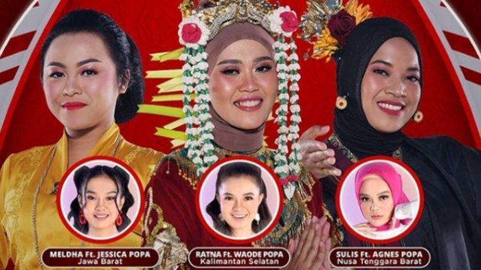 HASIL LIDA 2021 Top 9 Grup 1 Tadi Malam, Sulis Sapu Persih, Posisi Meldha Rawan, Siapa Tersenggol?