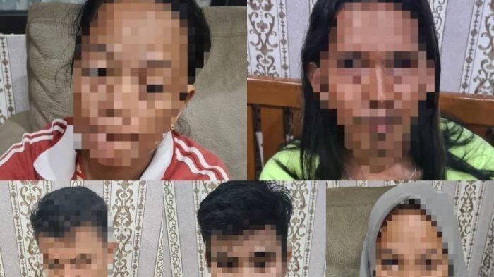 Asik Main Judi, Lima Warga Kutim Ditangkap, Polisi Sita Uang Rp 1,1 Juta
