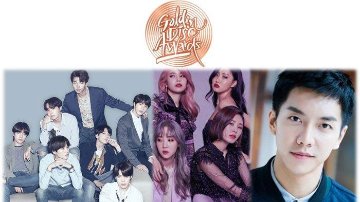 Line Up 34th Golden Disk Awards 2020, Ada BTS, MAMAMOO, TWICE hingga GOT7, Dipandu Lee Seung Gi dll