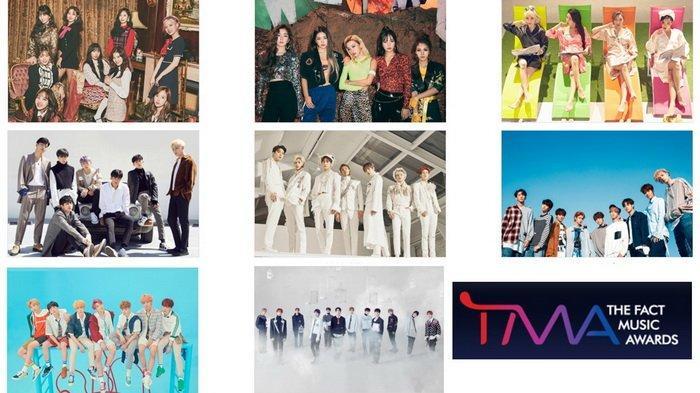 The Fact Music Awards - Line Up Artis yang Akan Hadir, Ada BTS, TWICE hingga iKON