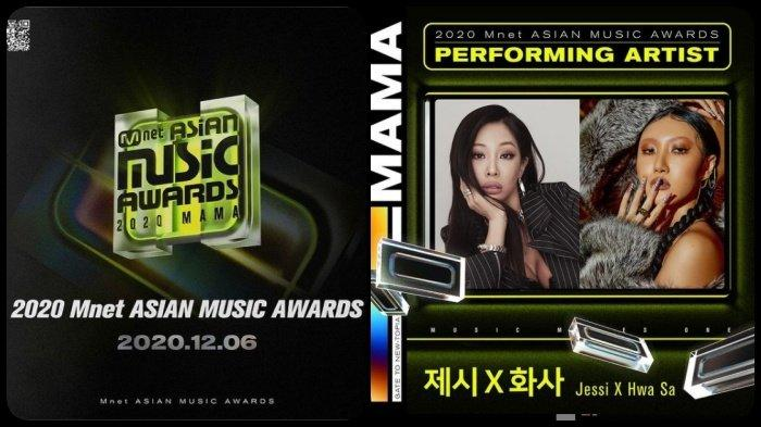 Line Up MAMA 2020, dari BTS hingga Spesial Jessi X Hwasa MAMAMOO, Nominasi Mnet Asian Music Awards