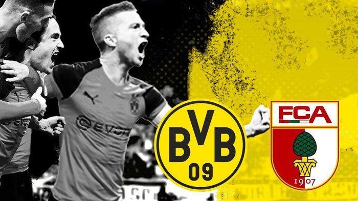LINK Live Streaming Borussia Dortmund vs Augsburg, Bundesliga Malam Ini Jam 20.30 WIB