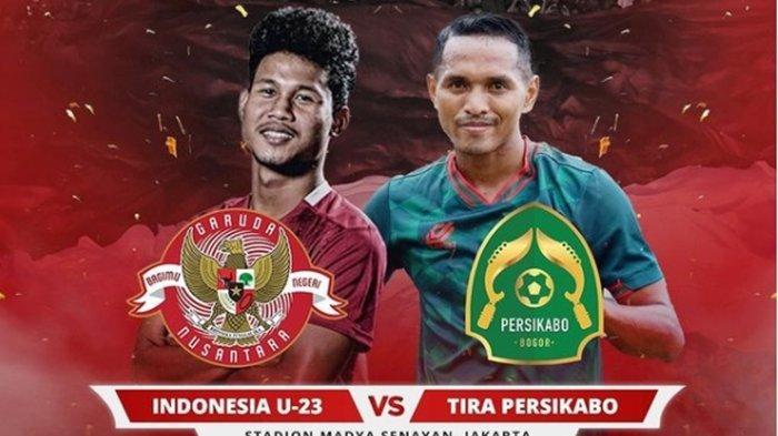 LINK Live Streaming Timnas U-23 Indonesia vs Tira Persikabo, Shin Tae-yong Bicara Bola Mati
