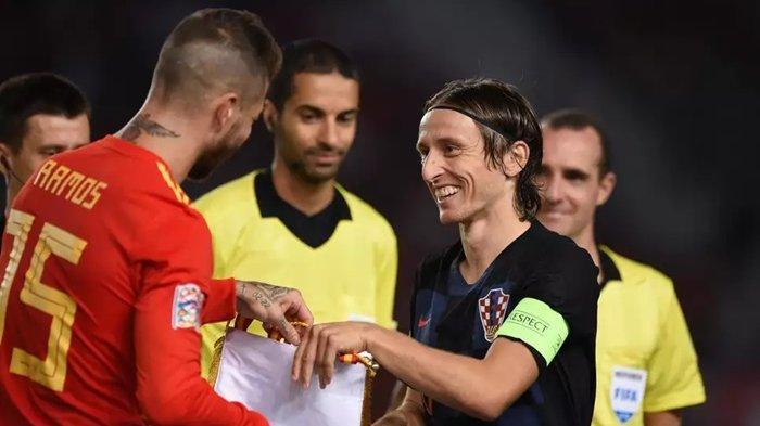 LINK LIVE STREAMING Kroasia vs Spanyol di UEFA Nations League, Mulai Jam 02.45 WIB