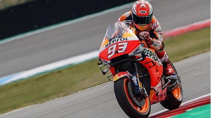 Link Live Streaming MotoGP Jepang Sirkuit Motegi, Marc Marquez Start Terdepan, Valentino Rossi ke-10