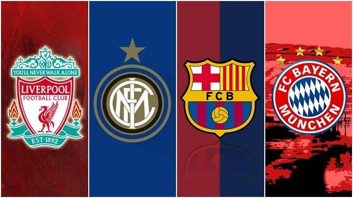 Link Live Streaming SCTV Liga Champions: Liverpool, Inter Milan, Barcelona, hingga Bayern Muenchen