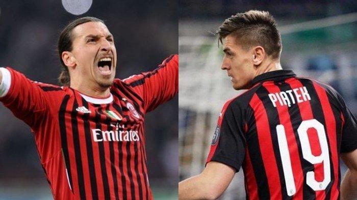 LINK Live Streaming TVRI AC Milan vs SPAL Coppa Italia, Duet Zlatan Ibrahimovic dan Krysztof Piatek