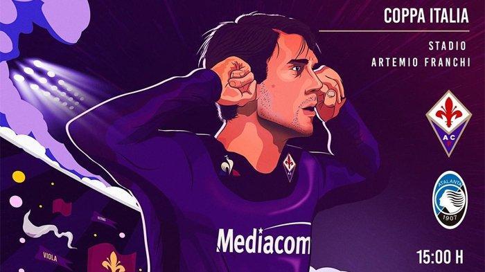 LINK Live Streaming TVRI Fiorentina vs Atalanta Coppa Italia Malam Ini, Siapa ke Perempat Final?