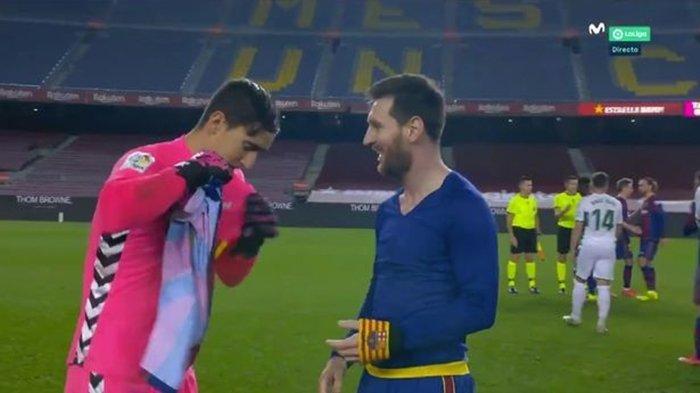 SIAPA Edgar Badia? Sosok yang Bikin Lionel Messi Tertarik Minta Bajunya Usai Laga Barcelona
