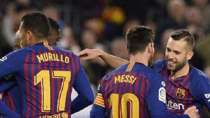 Hasil Babak 16 Besar Copa Del Rey, Barcelona vs Levante Berakhir 3-0