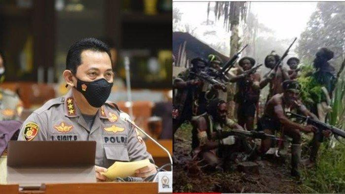 Kabar Buruk Jenderal Listyo Sigit, 2 Anak Buahnya Jual Senjata ke KKB Papua, Anggota Polri Gugur