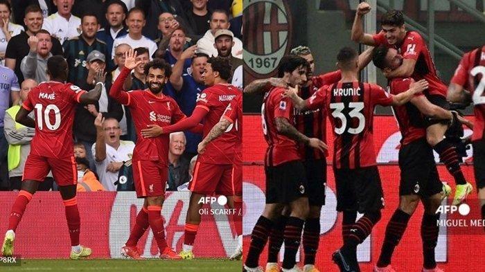 Prediksi, Line Up & Jam Tayang Liga Champions Malam Ini: Liverpool vs AC Milan, Live SCTV