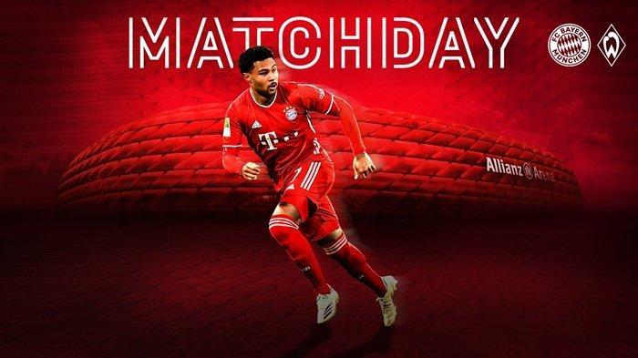 TONTON Live Streaming Bayern Munchen vs Werder Bremen Bundesliga via Streaming NET TV dan Mola TV
