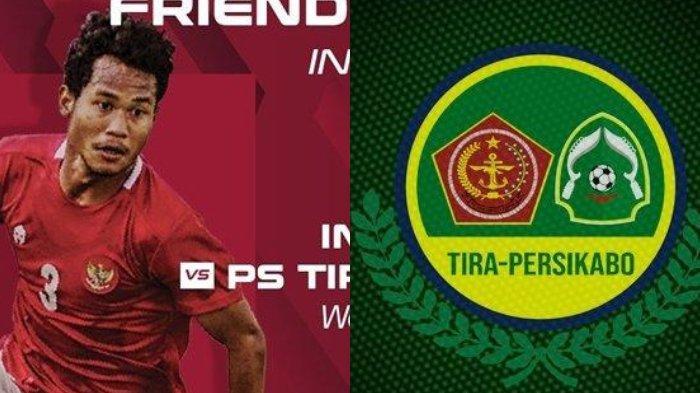 Seru, Live Streaming Indosiar, Timnas Indonesia vs Tira Persikabo, Shin Tae-yong Turunkan Evan Dimas
