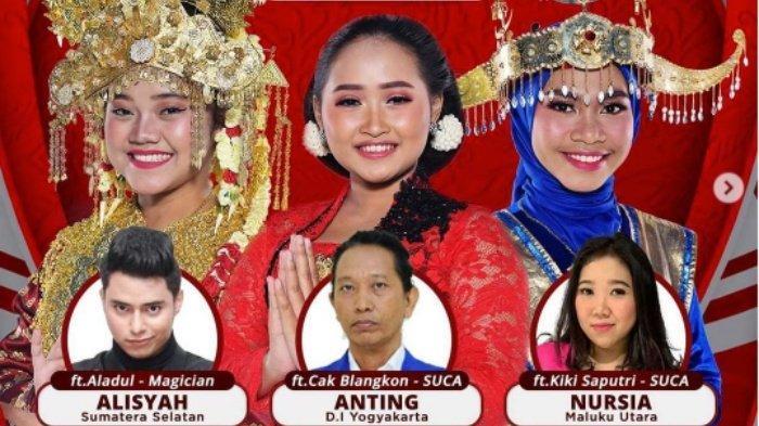 LIVE STREAMING LIDA 2021 Top 12 Grup 4, Alisyah dan Nursia Berjuang Saingi Anting, Siapa Tersenggol?