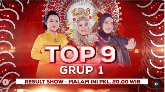 LIVE STREAMING LIDA 2021 Top 9 Grup 1, Persaingan Sulis, Meldha dan Ratna, Siapa Tersenggol?