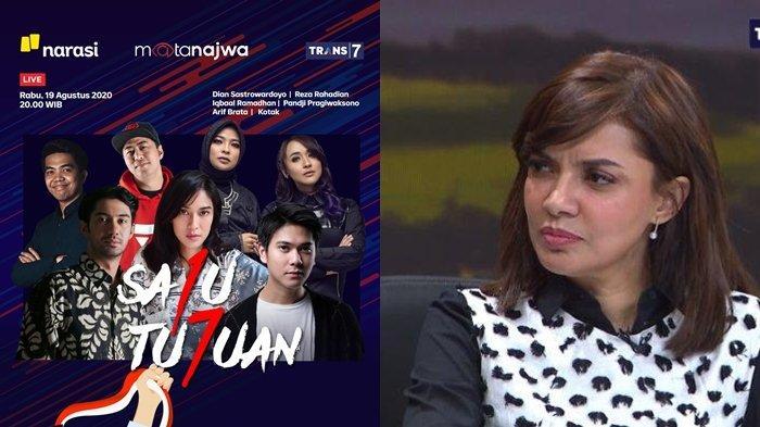 Live Streaming Mata Najwa Trans 7 malam ini, Najwa Shihab Undang Dilan hingga Cristian Gonzales