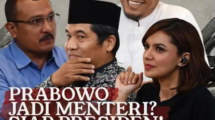 Live Streaming Mata Najwa Trans7 Gono-Gini Kursi Menteri, Adian Napitupulu & Arief Poyuono Tampil