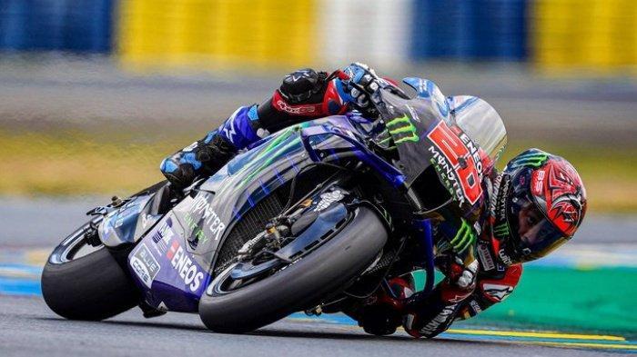 LIVE STREAMING MotoGP 2021 di Trans7, USee TV, Fox Sports, Vidio.com, Fabio Quartararo Pole Position