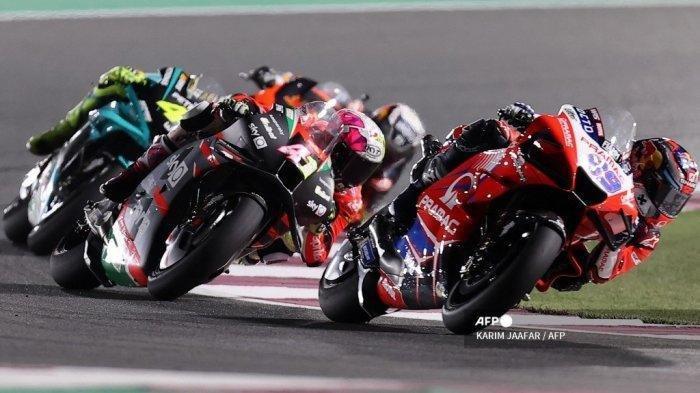 Jam Tayang dan Streaming MotoGP Doha 2021, Live di Trans 7 dan Usee TV, Posisi Rossi Terlempar