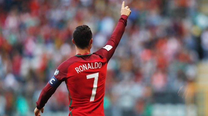 NONTON Live Streaming Portugal vs Azerbaijan Kualifikasi Piala Dunia 2022, Siapa Tandem Ronaldo?