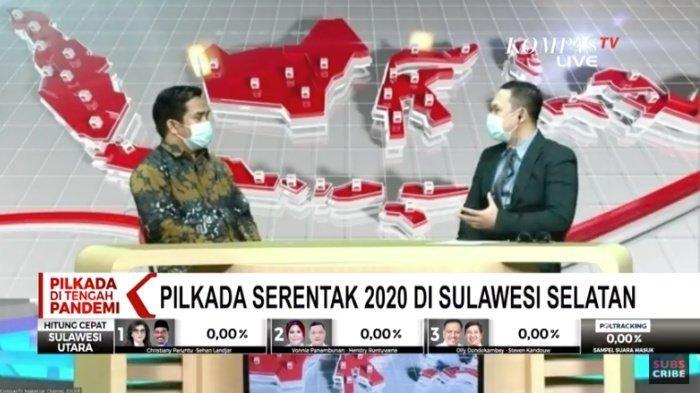 LIVE STREAMING Quick Count Pilkada 2020 atau Klik pilkada2020.kpu.go.id, Cek Hasil Seluruh Daerah