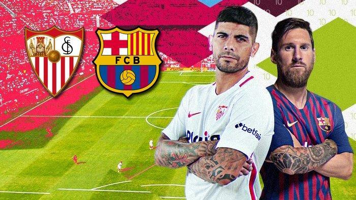 SEDANG BERLANGSUNG - Link Live Streaming Sevilla vs Barcelona, Skor Sementara 1-1