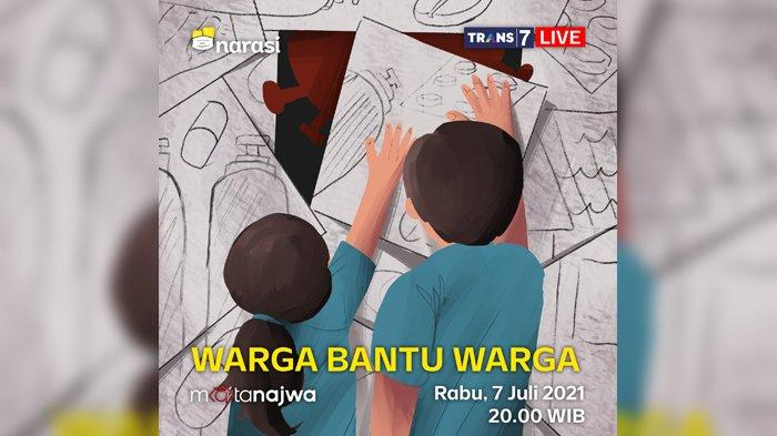 LIVE STREAMING Trans 7 Mata Najwa Malam Ini: Virus Corona Melonjak, Tabung Oksigen Terpaksa Impor