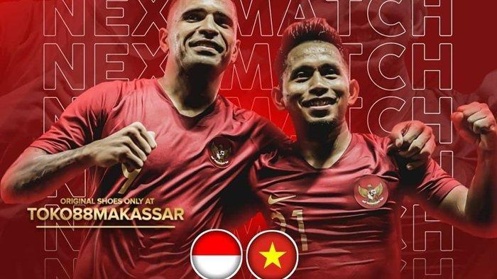 Live Streaming TV Online Timnas Indonesia vs Vietnam, Live TVRI dan Streaming Gratis Mola TV