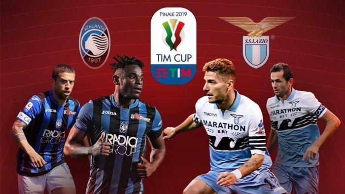 Live Streaming TVRI Final Coppa Italia Atalanta vs Lazio, Gasperini: Kami Punya Mentalitas!