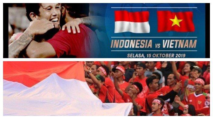 Live Streaming TVRI Timnas Indonesia vs Vietnam, Bisa Nonton Langsung Lewat HP
