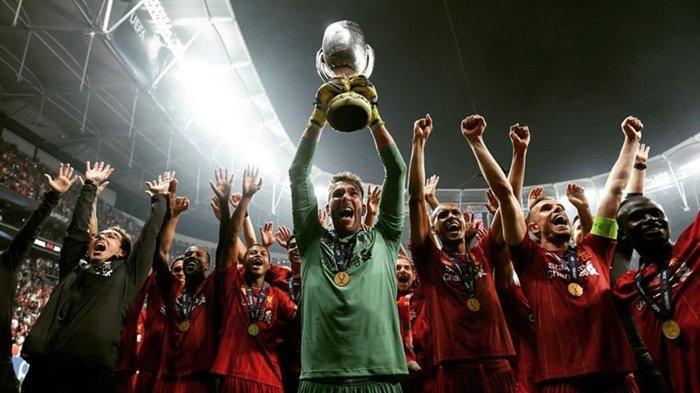 Kiper Spanyol Ini Ungkap Hal Gila Usai Antarkan Liverpool Juara Piala Super Eropa 2019