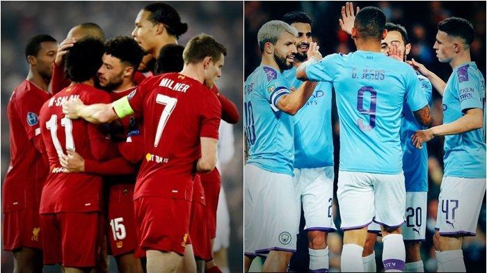 Jadwal Live Streaming TV Online Big Match Liga Inggris, Termasuk Duel Liverpool vs Man City