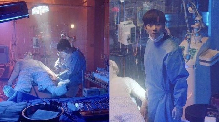 Karakter Ha Yoon Chul yang menyelamatkan seseorang di The Penthouse 3.