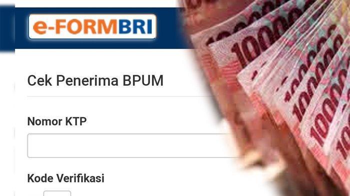 Cara Cek Penerima BLT UMKM BRI di eform.bri.co.id/bpum, Cek Daftar Nama Penerima Bantuan UMKM 2021