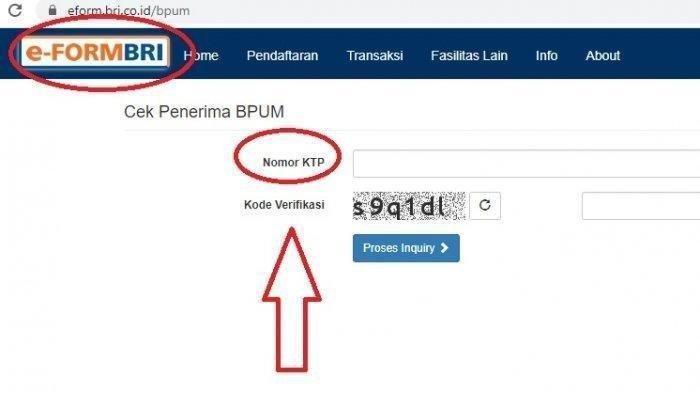 Daftar Nama Penerima BLT UMKM 2021, Cair Rp 1,2 Juta, Login eform.bri.co.id/bpum dan eform.bni.co.id