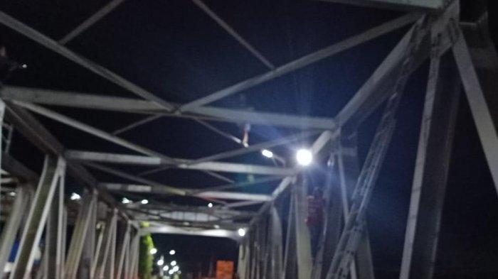 Diduga Depresi Berat, Seorang Pria di Sangatta Coba Bunuh Diri di Jembatan Pinang Kutai Timur