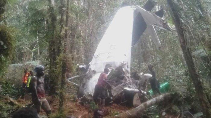Hampir Tiba di Bandara, Tapi Pesawat Rimbun Air Batal Mendarat, Akhirnya Jatuh di Wilayah KKB Papua
