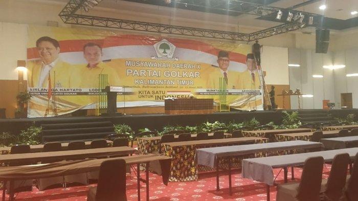 BREAKING NEWS Malam Ini Pembukaan Musda Golkar Kaltim, Sejumlah Pengurus DPP Telah Hadir
