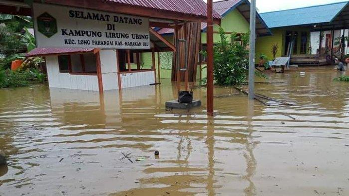 Banjir Dua Meter di Hulu Sungai Mahakam Rendam Ratusan Rumah Warga hingga Sekolah