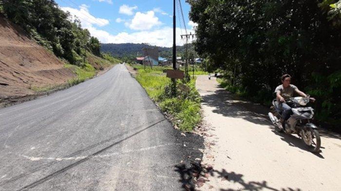 Dapat Kucuran Dana Alokasi Khusus, Jalan Poros Long Bagun ke Long Pahangai Mulai Diaspal