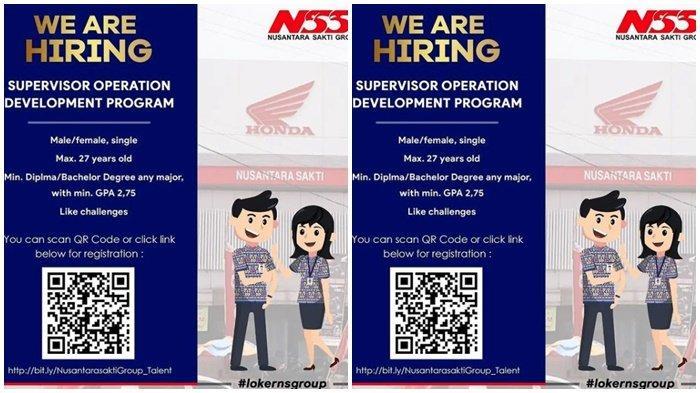 Lowongan Kerja Kaltim, NSS Cari Karyawan untuk Supervisor Operation Development, Cek Syaratnya