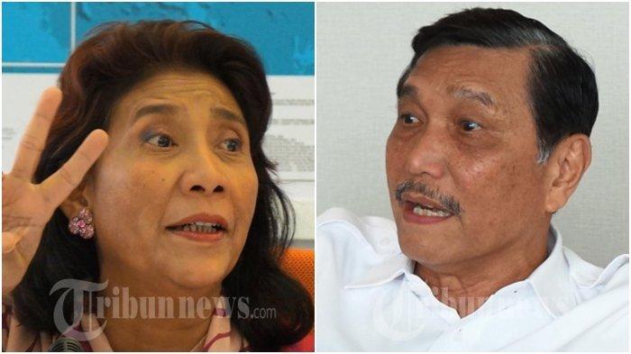 Beda Mencolok Nasib Luhut Padjaitan dan Susi Pudjiasuti,Daftar Lengkap Susunan Kabinet Kerja Jokowi