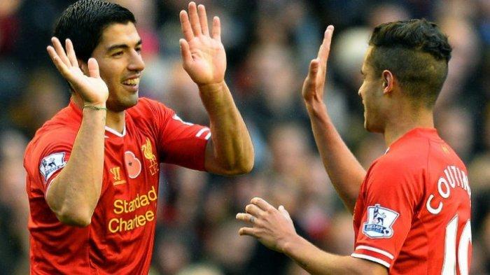 Coutinho Ogah Bertahan di Liverpool Lantaran Faktor Luis Suarez di Barcelona?