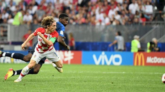 Sosok Luka Modric, Peraih Pemain Terbaik Piala Dunia 2018, Dulunya jadi Pengungsi Perang