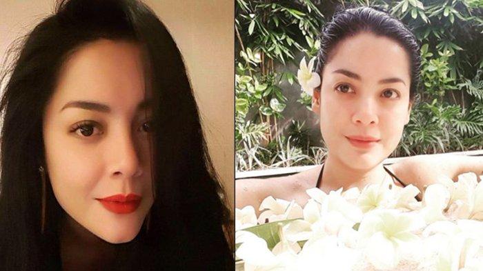 Setelah Gugat Cerai Cucu Soeharto, Lulu Tobing Tampil dengan Tato Baru