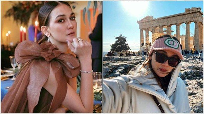 Luna Maya dan Ryochin Unggah Foto Hadiri Pernikahan di Yunani, Eks Reino Barack Ada Unggah Foto Ini