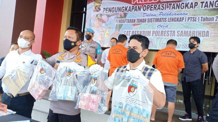 Uang Formulir Pendaftaran PTSL di Samarinda Rp 170 Juta, Habis Dipakai Para Tersangka