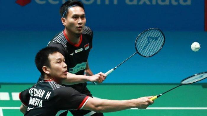 INDONESIA OPEN 2019 - Tuan Rumah Hanya Sisakan Dua Perwakilan Ganda Putra di Semifinal